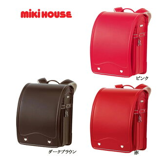 There is no A4 file-adaptive guarantee for Miki house regular store / Miki house MIKI HOUSE ★ school satchel 2,014 years (girl)