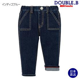 ミキハウス正規販売店/ミキハウス ダブルビー mikihouse Everyday DOUBLE_Bパンツ(70cm-150cm)