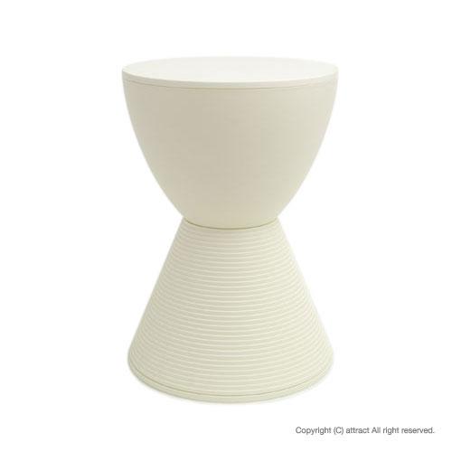 カルテル 高知 Kartell Prince AHA プリンスアハ プリンス アハ スツール 椅子 PRI-8810 カラー:ホワイト デザイナー:フィリップ・スタルク デザイナーズ モダン 【RCP】【smtb-KD】