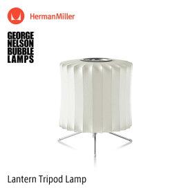バブルランプ Bubble Lamps Herman Miller ハーマンミラー Lantern Tripod Lamp ランタン トリポッド テーブルランプ スタンド デスク 卓上 George Nelson ジョージ・ネルソン デザイナーズ デザイン 照明 ライト 【RCP】【smtb-KD】
