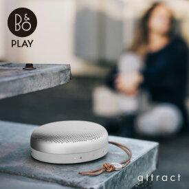 バング&オルフセン Bang & Olufsen ベオプレイ B&O PLAY BeoPlay A1 ポータブル スピーカー Bluetooth 4.2 防塵・防滴仕様 デザイン:セシリエ・マンツ カラー:9色 保証付 デンマーク オーディオ 【smtb-KD】