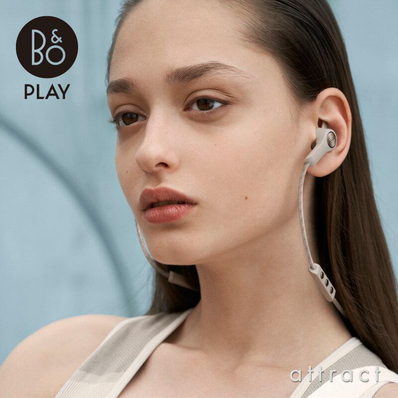 バング&オルフセン Bang & Olufsen ベオプレイ B&O PLAY BeoPlay E6 インイヤー ワイヤレスイヤフォン Bluetooth 4.2 デザイン:ヤコブ・ワグナー カラー:3色 防塵・防滴仕様 スナップオン充電 デンマーク オーディオ MoMA 【RCP】【smtb-KD】