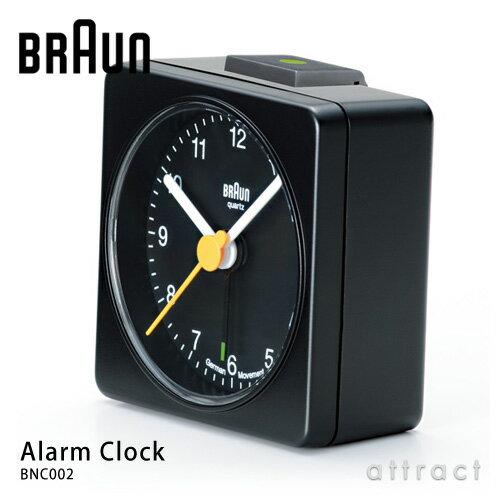 ブラウン BRAUN 【正規取扱店】 Alarm clock アラームクロック BNC002 ブラック ホワイト 置時計 目覚まし時計 テーブルクロック デザイン:デートリッヒ・ルブス ドイツ製クオーツ AB1 1987年