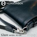 エルゴポック HERGOPOCH Glaze Series グレイズシリーズ Glazed Leather グレイズドレザー フラップショルダーバッグ …
