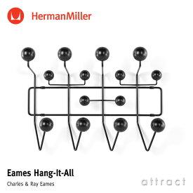 ハーマンミラー Herman Miller イームズ ハングイット オール Eames Hang-It-All ブラック デザイン:Charles & Ray Eames チャールズ&レイ・イームズ ウォールハンガー コートハンガー フック 壁面 収納 【RCP】【smtb-KD】