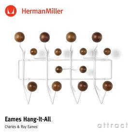 ハーマンミラー Herman Miller イームズ ハングイット オール Eames Hang-It-All ウォールナット ホワイト デザイン:Charles & Ray Eames チャールズ&レイ・イームズ ウォールハンガー コートハンガー フック 壁面 収納 【RCP】【smtb-KD】