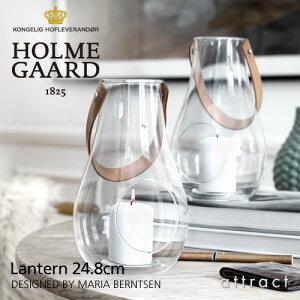 ホルムガード HOLME GAARD ランタン クリア Lantern 24.8cm Mサイズ デザイン ウィズ ライト Design with Light 4343501 デザイン:マリア・バーントセン キャンドル テーブルライト ガラス デンマーク 北欧