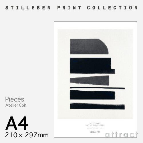 スティルレーベン STILLEBEN ポスター 210×297mm A4サイズ Poster ピーシーズ Pieces デザイン:Atelier Cph ポスター 壁面 アート フォト プリント インテリア シンプル デザイン 【RCP】