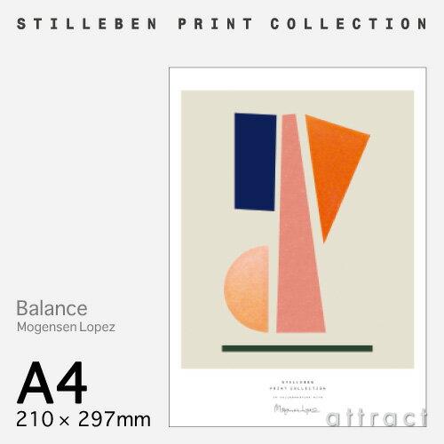 スティルレーベン STILLEBEN ポスター 210×297mm A4サイズ Poster バランス Balance デザイン:Mogensen Lopez ポスター 壁面 アート フォト プリント インテリア シンプル デザイン 【RCP】