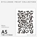 スティルレーベン STILLEBEN ポスター 148×210mm A5サイズ Poster メイズ Maze デザイン:Vibeke Rohland ポスター...