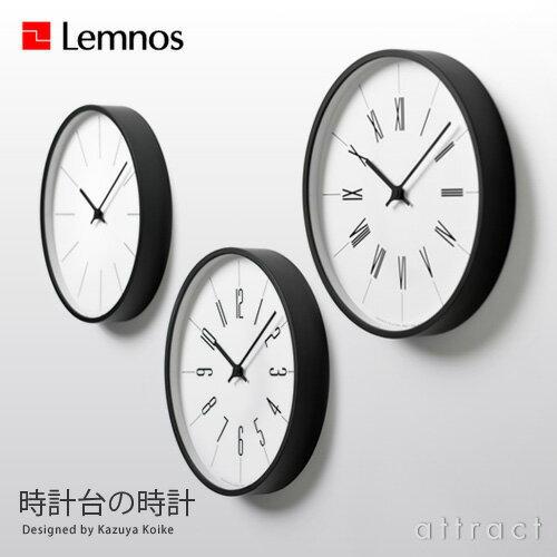 レムノス Lemnos タカタ Clock Tower-Clock 時計台の時計 KK13-16 文字盤:全3タイプ Φ254mm プライウッド スイープ ムーブメント デザイン:小池 和也 ideaco イデア 壁掛け時計 ウォールクロック 贈り物 ギフト 【RCP】