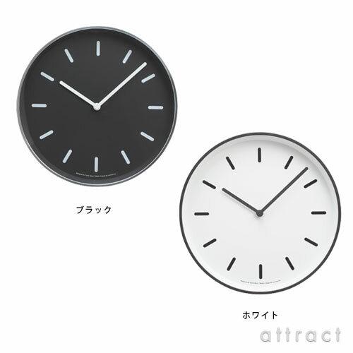 レムノス Lemnos タカタ MONO Clock モノクロック B タイプ 文字盤数字なし LC10-20 B 壁掛け時計 掛時計 時計 ウォールクロック ブラック・ホワイト デザイン:奈良雄一 インテリア 【RCP】【smtb-KD】