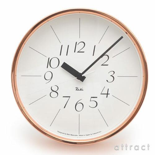 レムノス Lemnos タカタ 銅の時計 リキクロック WR11-04 壁掛け時計 掛時計 時計 ウォールクロック デザイン:渡辺力 インテリア デザイン 雑貨 【RCP】【smtb-KD】