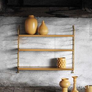 ストリングstringポケットpocketウォールシェルフ壁面収納シェルフシステムカラー:全13色3段デザイン:ニルス・ストリニング組み立てスウェーデン【RCP】【smtb-KD】