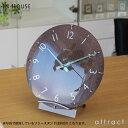 インハウス IN HOUSE Dome Clock ドームクロック サイズ:M Φ29cm NW31 ウォールクロック 壁掛け時計 カラー:全3色 ブリティッシ...