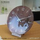 インハウス IN HOUSE Dome Clock ドームクロック サイズ:L Φ40cm NW30 ウォールクロック 壁掛け時計 カラー:全3色 ブリティッシ...