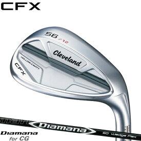 クリーブランド CFX ウェッジDiamana for CG シャフト装着仕様#Cleaveland#キャビティウェッジ#右打用#ディアマナ