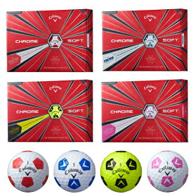 キャロウェイ クロムソフト ゴルフボール トゥルービス 1ダース/12個入り#CW/Callaway/BALL/CHROME SOFT/グラフェン/TRUVIS
