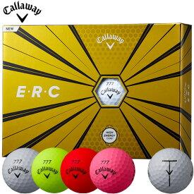 キャロウェイ E・R・C ボール 1ダース/12個入り (全4色)#2019年モデル#Callaway#CW#BALL#ERC#ゴルフボール