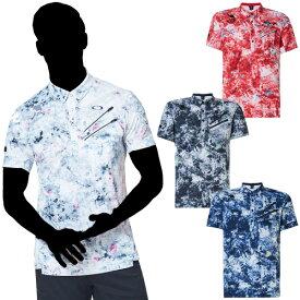 【クリアランス】オークリー Skull Aberration Shirts 男性用ポロシャツ 品番:FOA400792#OAKLEY#アパレル#スカルアベレーションシャツ