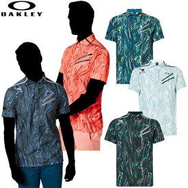 オークリー 2019 Skull Splendor Shirts 男性用ポロシャツ 品番:434481JP#OAKLEY#19FW#スカル スプレンダーシャツ