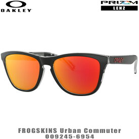 オークリー サングラス FROGSKINS URBAN COMMUTER品番:OO9245-6954#OAKLEY/フロッグスキンズアーバンコミューター#PRIZM/プリズムレンズ