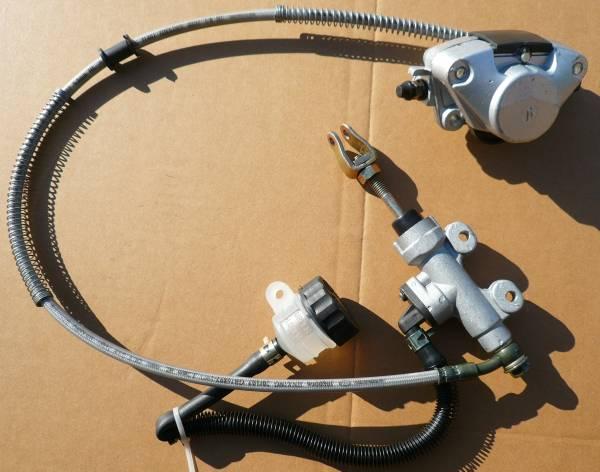 ATV バギー用、リアフットブレーキセットペタル付き76R