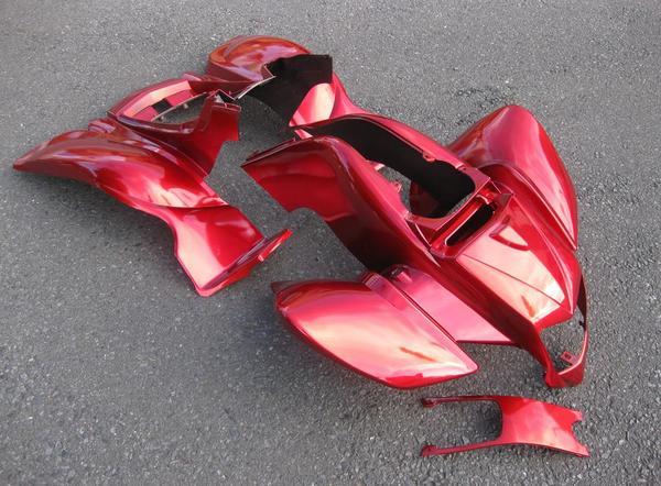 バギー併用フルサイズカウル外装タイプ2新品赤