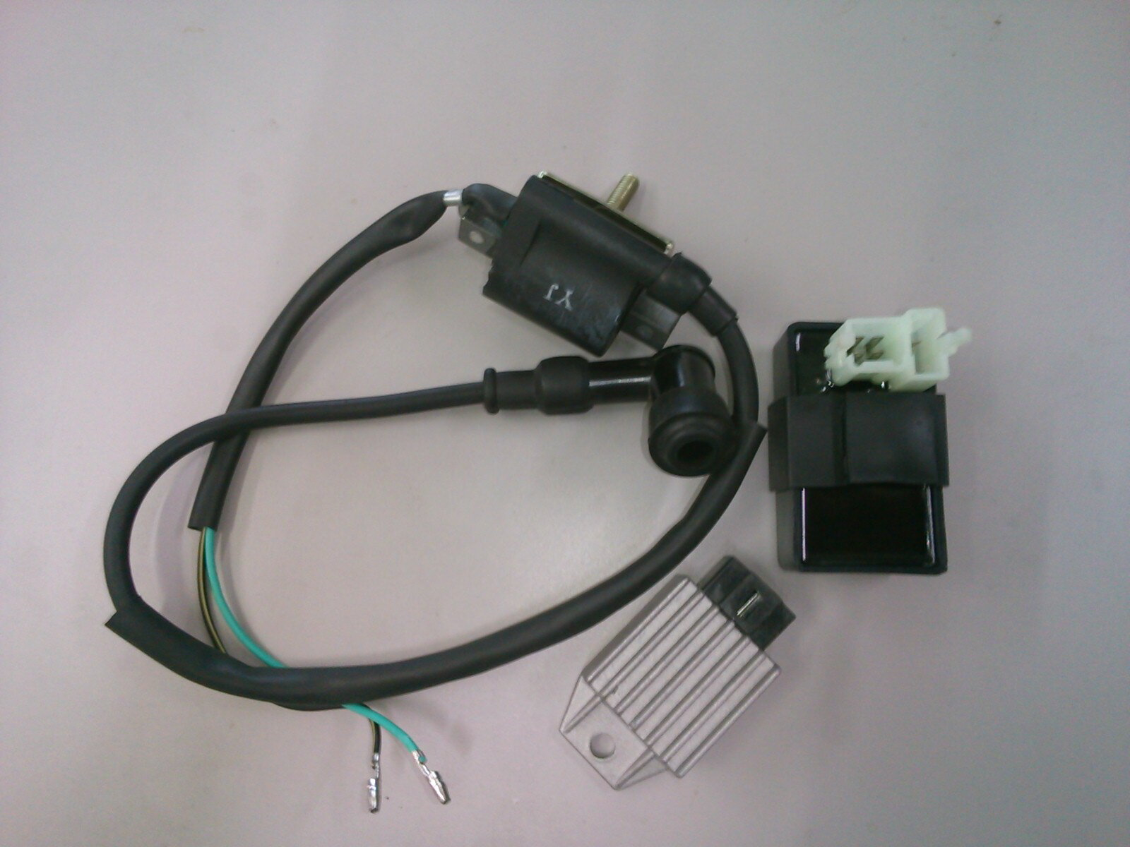 ATV、バギー用 レギュレター CDI コイル3点セット 新品