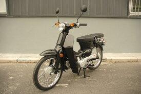 復活 スーパーバイク オリジナルバイク 110cc ブラック