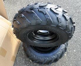 ATV 四輪バギー 7インチ PCD110 16x8-7チュブレスタイヤホイール左右2本セットATV12