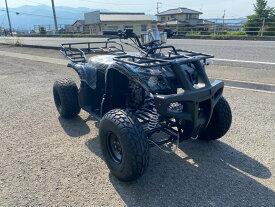 ATV バギー ハマータイプ新車  Wマフラーでマフラーがレッドになります。