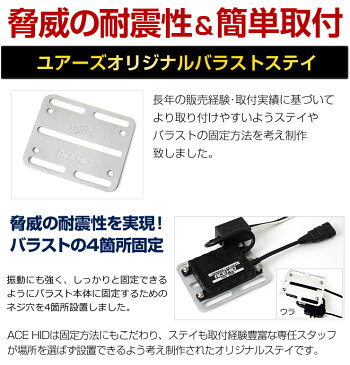 [N]ACEHID35WH1/H3/H7/H8/H11/HB3/HB4世界最小クラスICデジタルバラスト【安心の1年保証】【送料無料】【コンビニ受取対応商品】