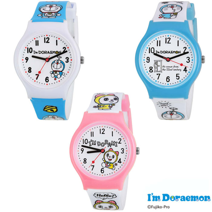 ドラえもん キッズウォッチ デコウォッチ 腕時計 kids Watch キャラクターウォッチ 子供腕時計