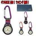 カラビナ時計 ポケットウォッチ フックウォッチ ハンキングウォッチ AP1322 時計 キーホルダー時計