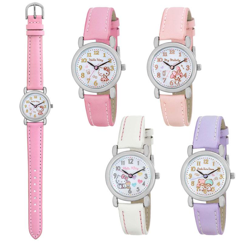 サンリオ キャラクター ハローキティ マイメロディ リトルツインスターズ キッズウォッチ 腕時計 Sanrio Character Watch キャラクターウォッチ 子供腕時計 SR-V25