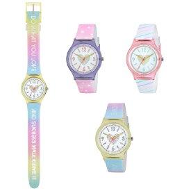 腕時計 ハート ホログラムウォッチ キッズ 子供時計 J-AXIS ジェイアクシス 女の子 VL17 ピンク パープル イエロー サンフレイム