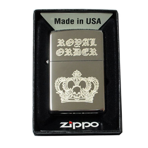 ロイヤルオーダー Zippoジッポライター 完全数量限定品
