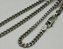 50cm 2.8mm ネックレス メンズ シルバー925 喜平ネックレス 燻し加工 シルバーチェーン メンズ ネックレス いぶし銀 …