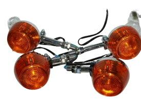CB ホーク ウインカー アンバー オレンジ 橙 CB400T CB250T CM250T CM400T CB400F 送料無料4520円★14-0091