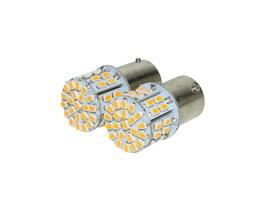 極光 LED バルブ ウインカー 12V アンバーS25シングル 送料無料1860円★2X-1774 CB400F CB250T CB550F CB750 CBX400F