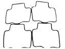 4X-1849【送料無料1540円】キャブレターフロートパッキン4個セット/ZXR250/XANTHUS/ZZR400/バリオス/ZXR400/
