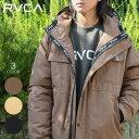 RVCA ルーカ ジャケット メンズ MOUNTAIN PUFFER JACKET 2020秋冬 ベージュ/ブラック/ブラウン S/M/L/XL