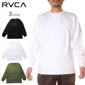 【 SALE 31%OFF 】 RVCA ルーカ Tシャツ ロンT メンズ BIG PIXEL LS 2020秋冬 ブラック/グリーン/ホワイト S/M/L 【evi】
