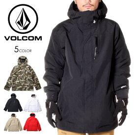 VOLCOM ボルコム スノーウェア ジャケット メンズ L GORE-TEX JACKET 2020-2021秋冬 カモ/ブラック/レッド/ベージュ/ホワイト M/L/XL 【evi】
