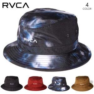 【在庫一掃セール/40%OFF】 RVCA ルーカ ハット メンズ RAT HAT 2020秋冬 ブラック/レッド/タイダイ/ブラウン フリーサイズ 【evi】