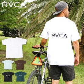 【 SUMMER SALE 30%OFF 】 RVCA ルーカ Tシャツ メンズ BACK RVCA TEE 2020春夏 ブラック/ブラウン/グリーン/ライトブルー/ホワイト S/M/L 【evi】