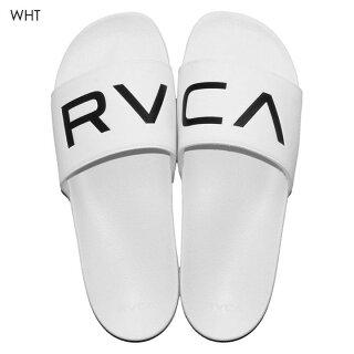 RVCAレディースビーチサンダルSHOWERSANDALAI043-9552018春ブラック/ホワイト24cm/25cm