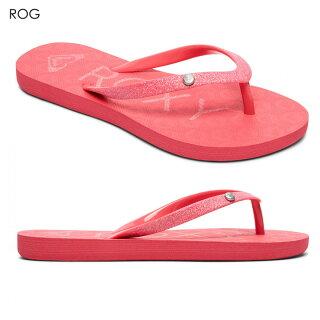 ROXYビーチサンダルガールズRGVIVAGLITTERIIARGL1001862018春ネイビー/ピンク18cm/20cm/22cm