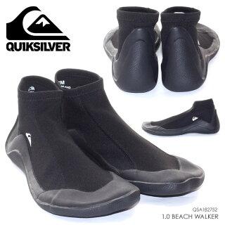 QUICKSILVERマリンシューズメンズ1.0BEACHWALKER-QSA1827522018夏ブラック26cm/27cm/28cm